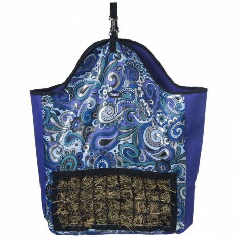 Tough-1 Slow Feed Hay Pouch In Paisley Shimmer Print