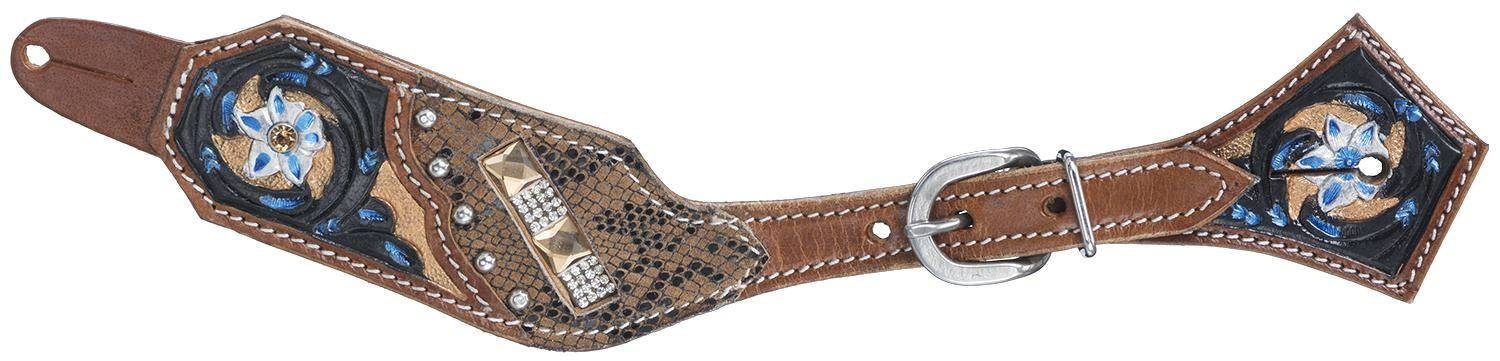 Silver Royal Savannah Spur Strap