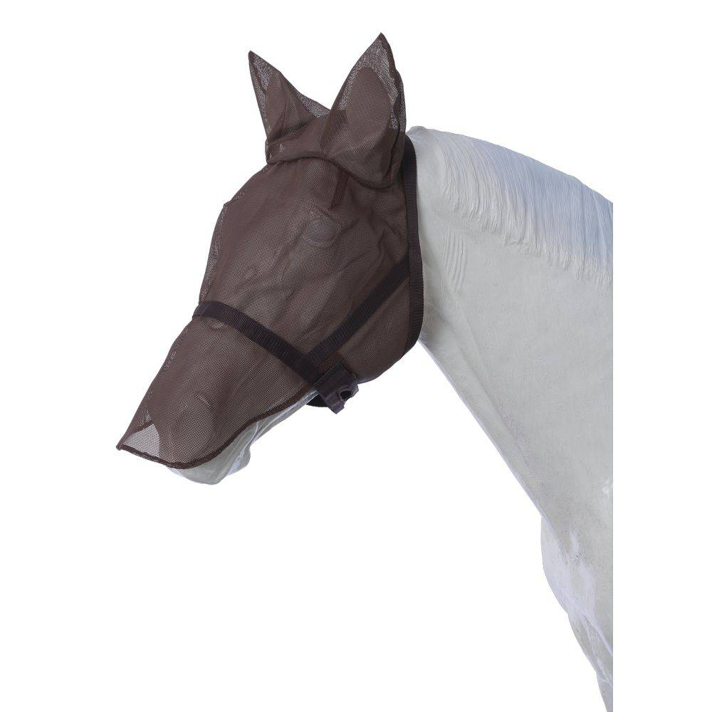 Tough-1 Combination Fly Mask/Catch Halter