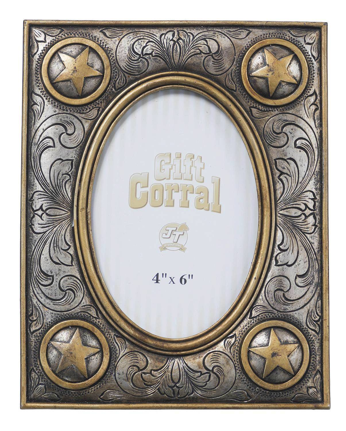 Circle Star Picture Frame