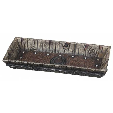 Horseshoe Wood Look Tray