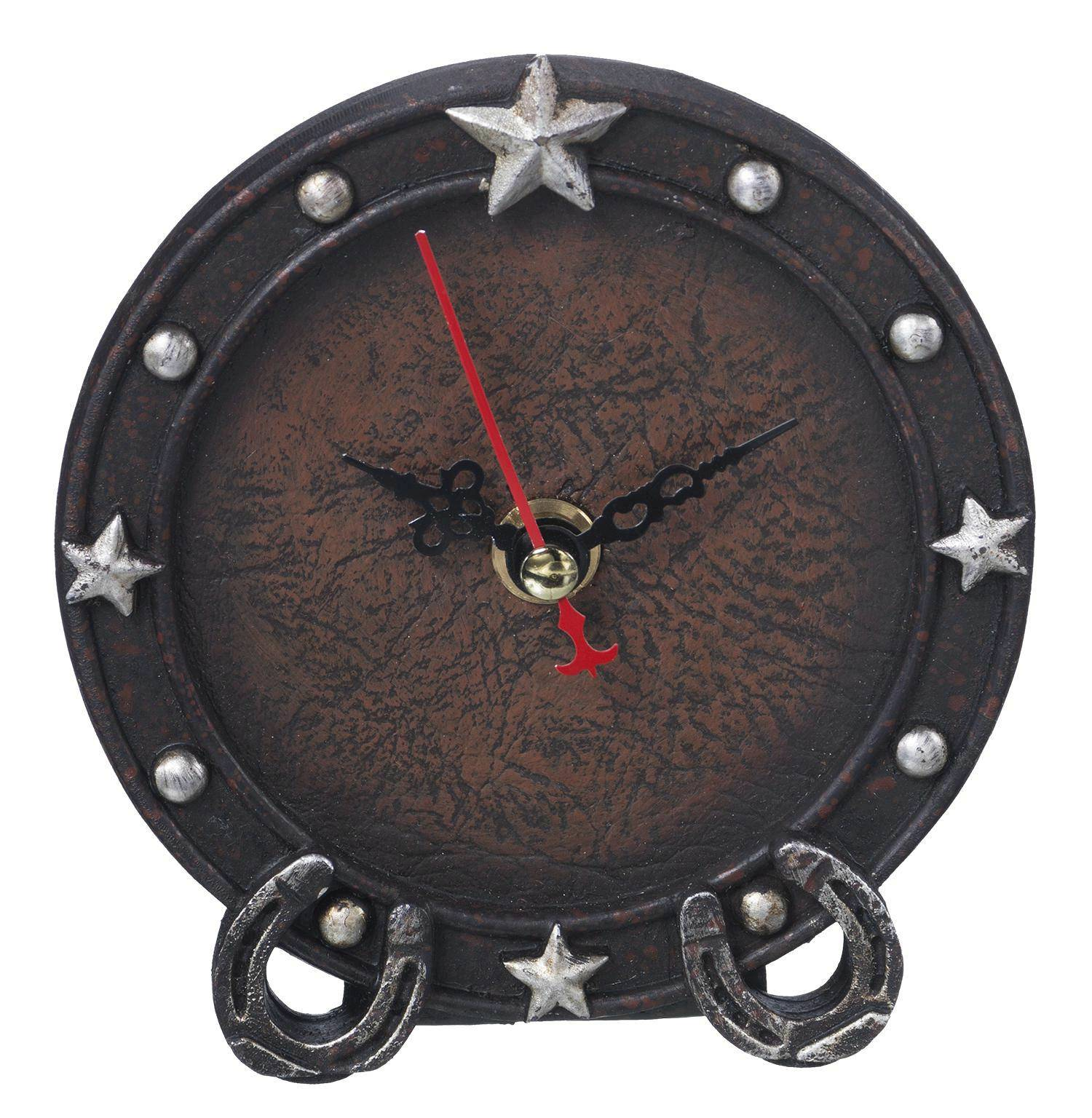 Horseshoes/Stars Clock