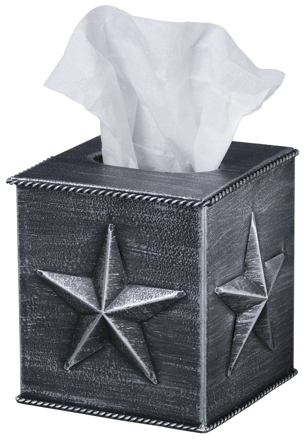 Star Square Tissue Box Cover