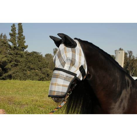 Kensington Protective Fly Mask with Nose Piece & Ears