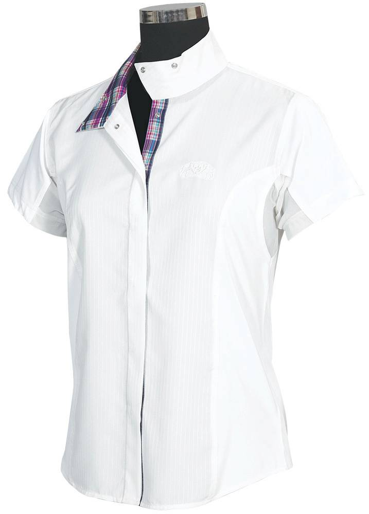 Equine Couture Ladies' Amber Short Sleeve Show Shirt