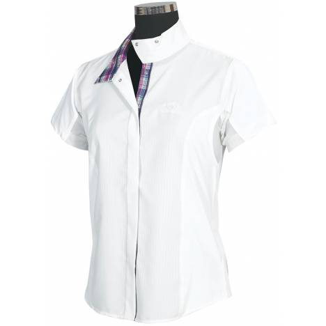 Equine Couture Ladies Amber Short Sleeve Show Shirt