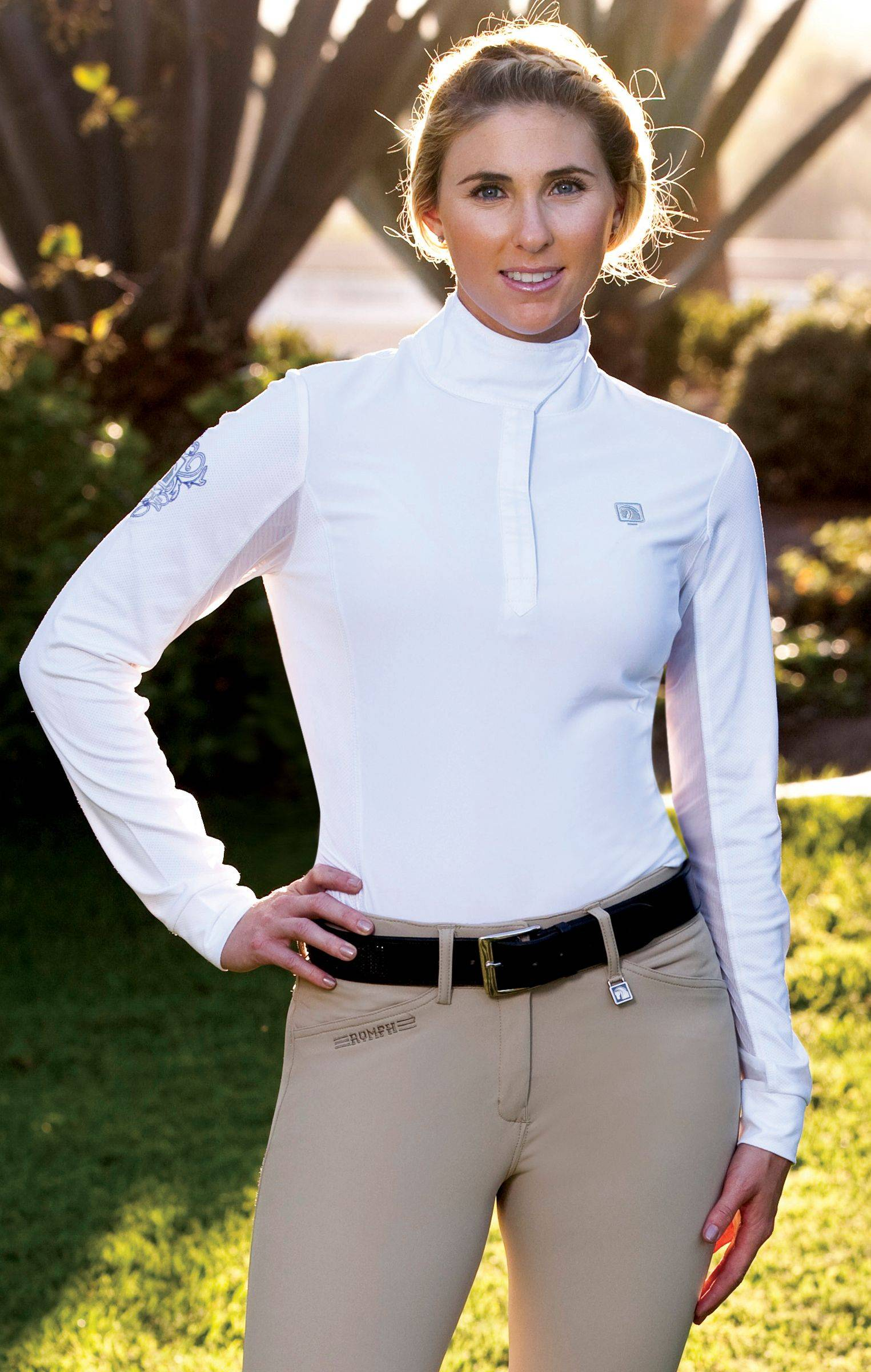 Romfh Ladies Competitor Long Sleeve Show Shirt