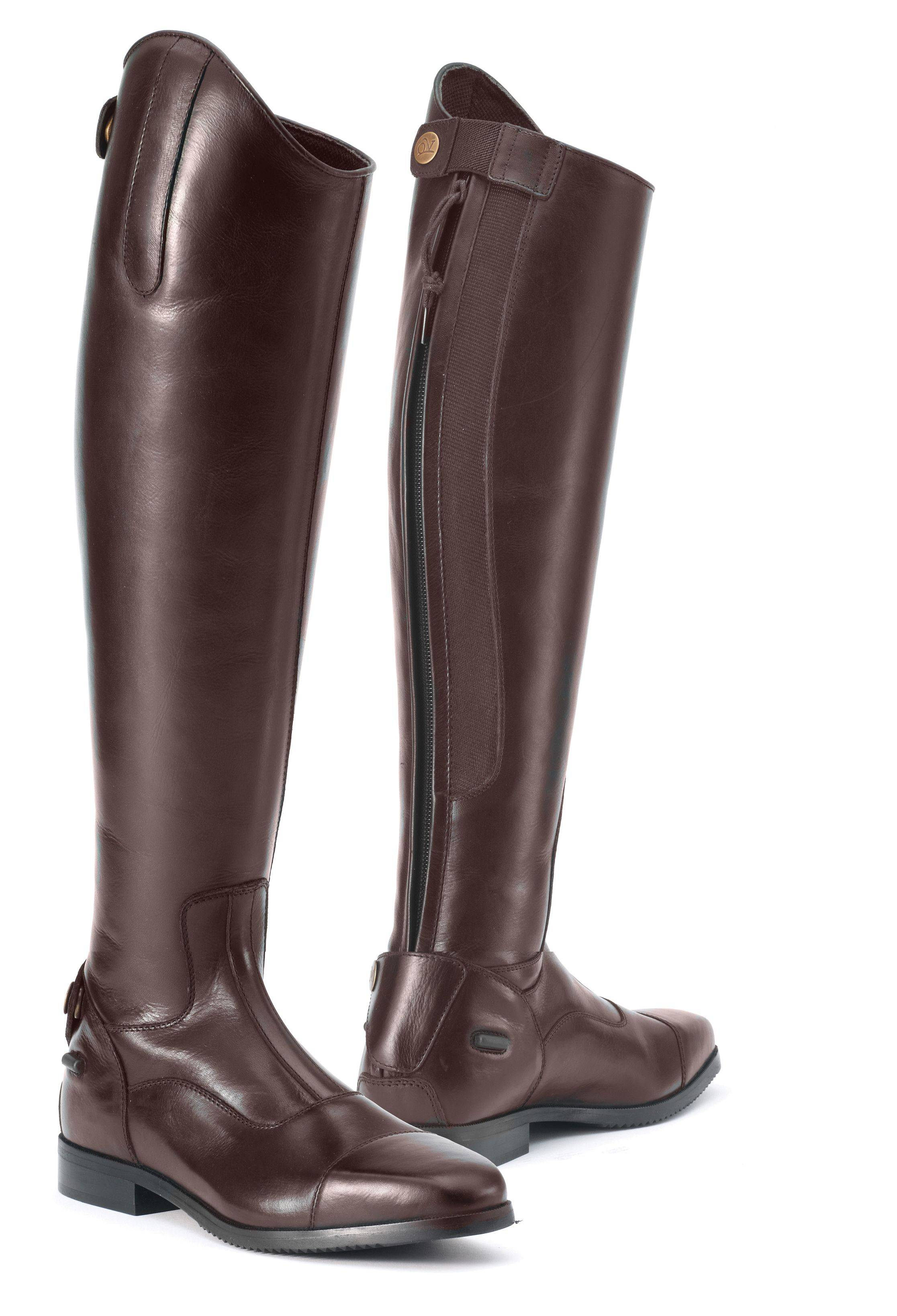 Ovation Ladies Olympia Tall Dress Boots - Brown