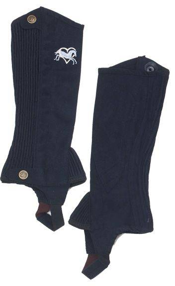 Ovation Kids Heart & Horse Half Chaps