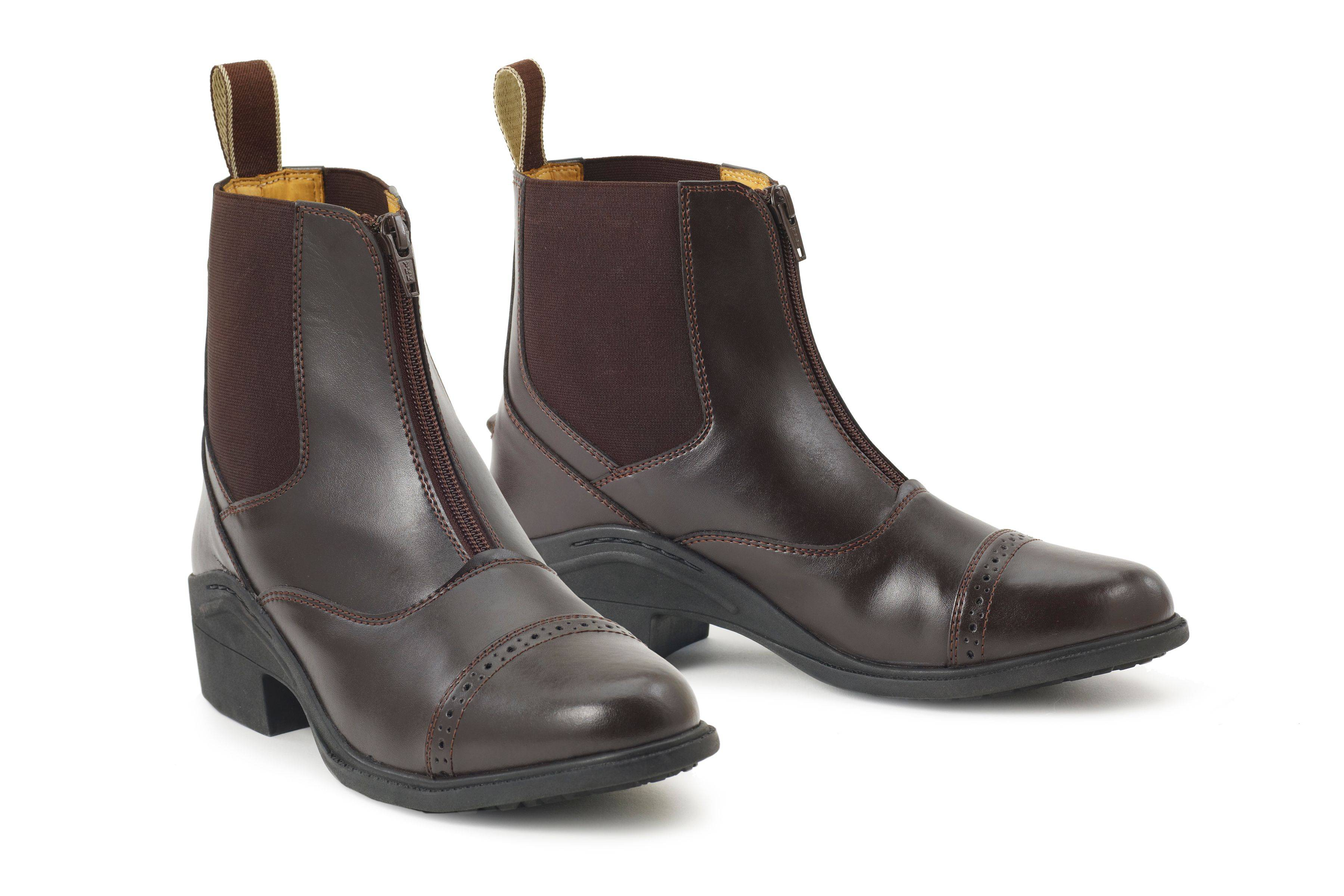 Ovation Synergy Zip Front Kids Paddock Boots