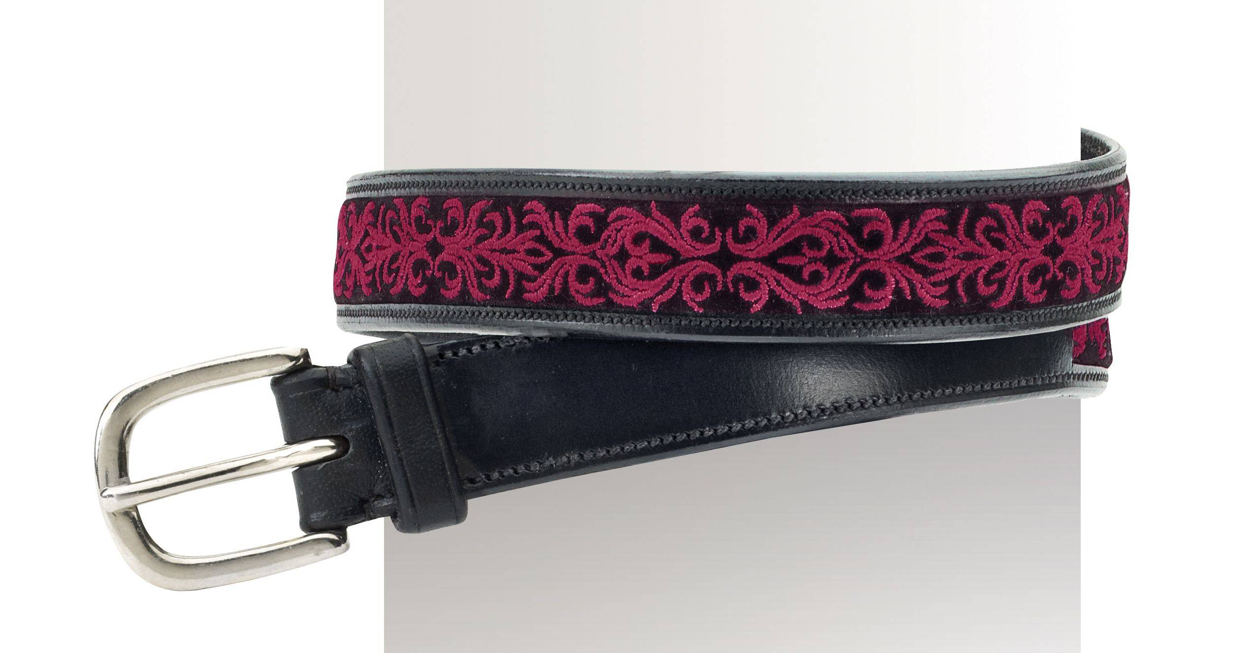 Ovation Ladies' Filigree Embroidered 1'' Belt