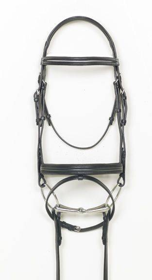 Ovation Split Browband Dressage Bridle with Reins