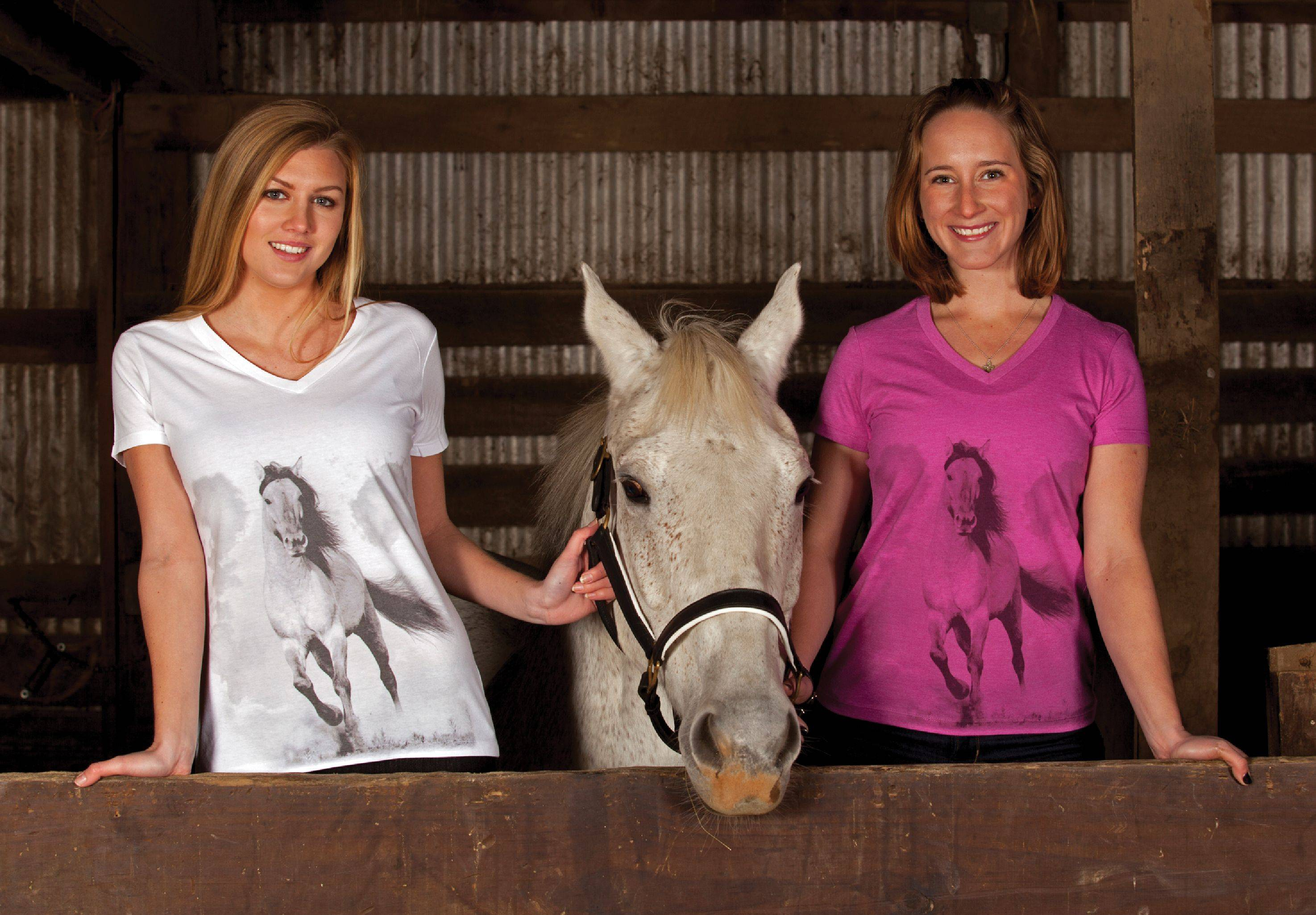Genuine Ranch Brand Ladies' Stallion Tee
