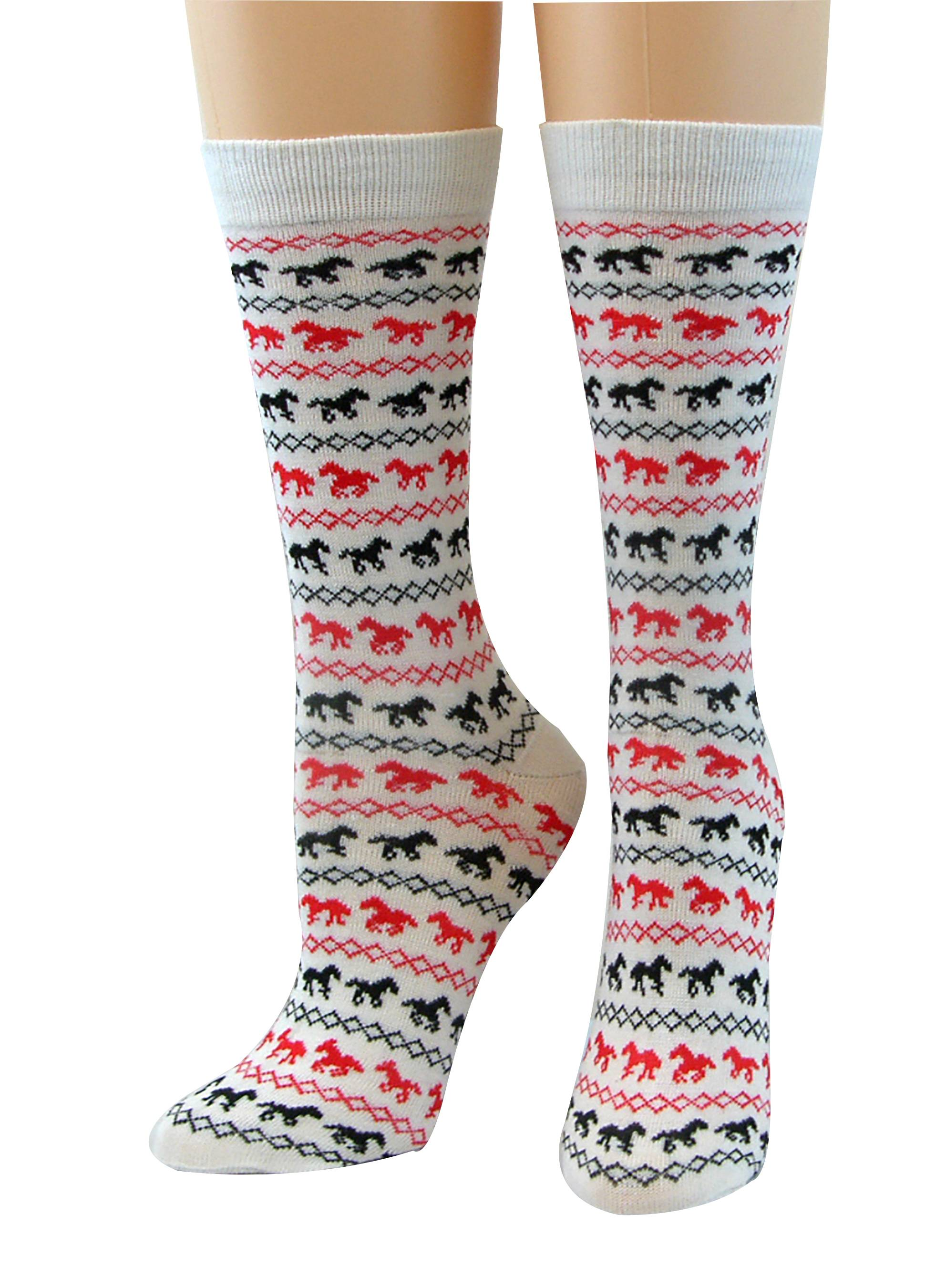 Cool Max Socks - Running Horse