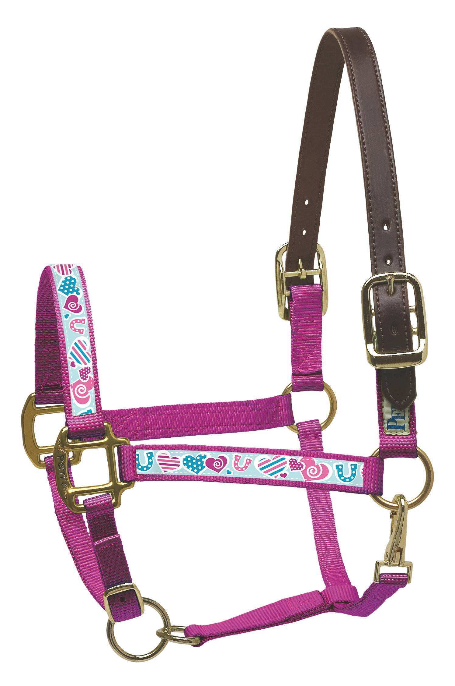 Perri's Leather Ribbon Safety Halter
