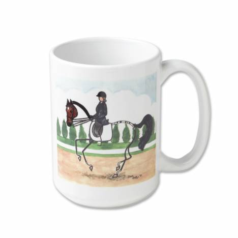Stick Horse Mug - Dressage Canter