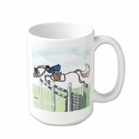 Stick Horse Mug - Green Triple Jump