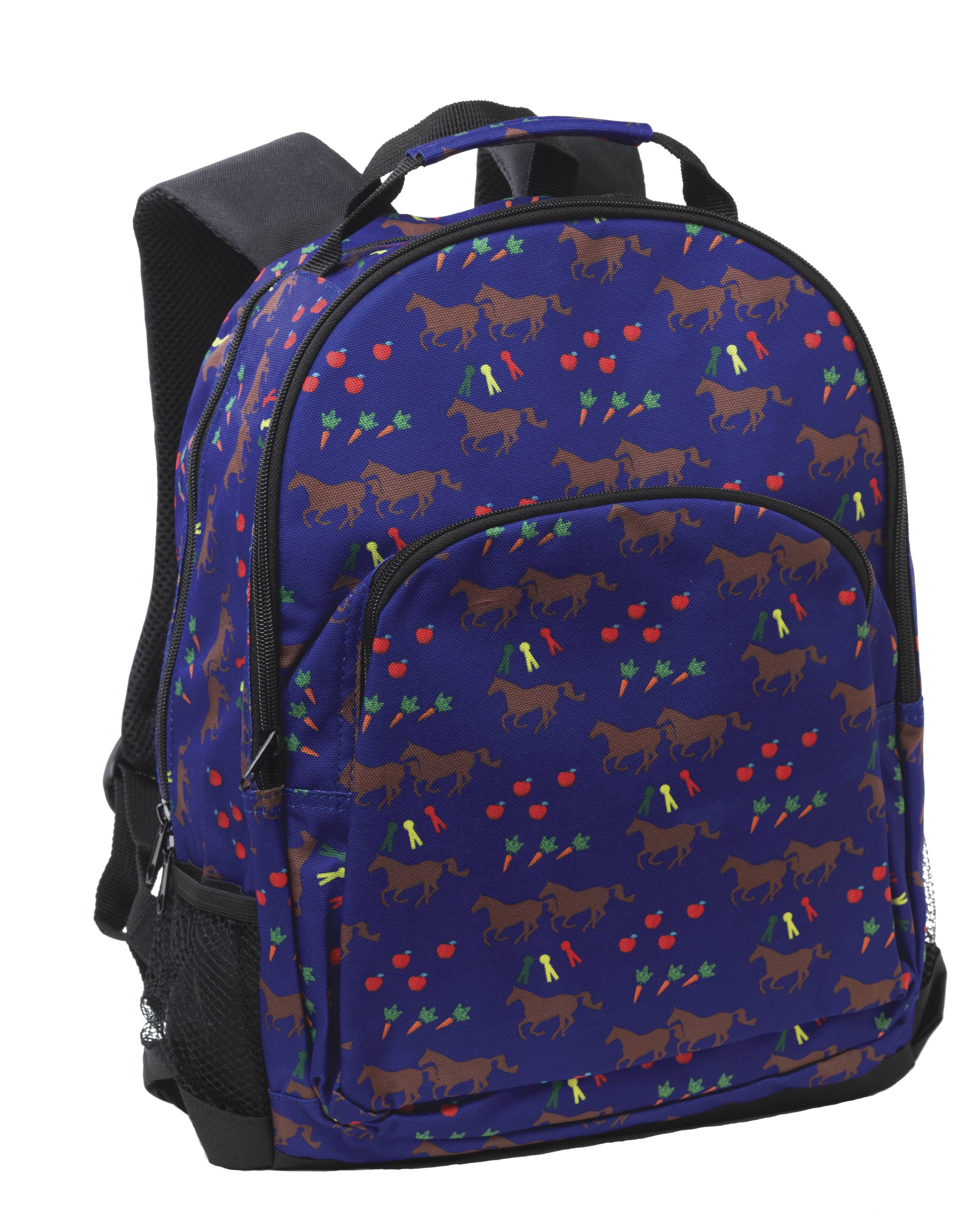 Tek Trek Horses & Apples Backpack