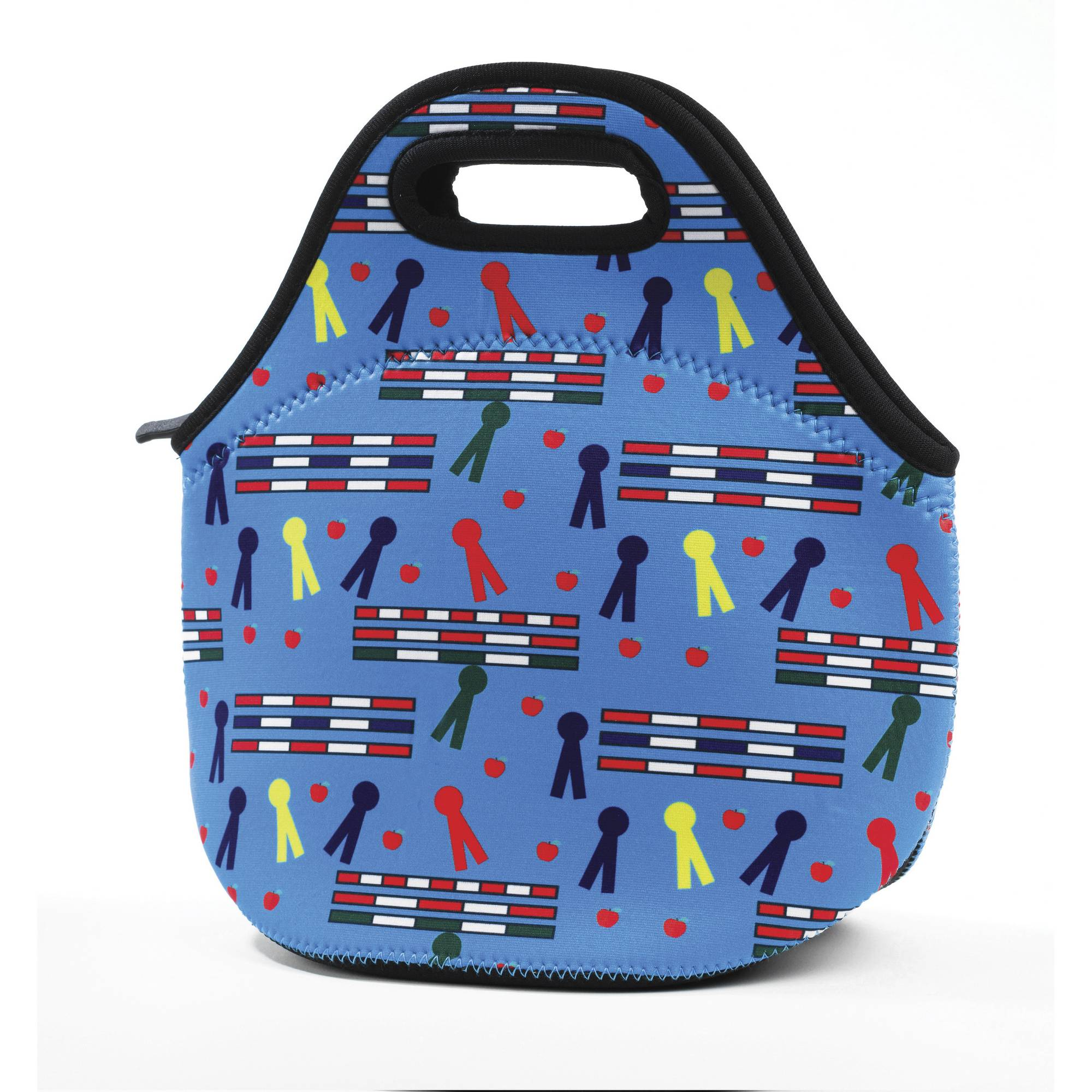Tek Trek Neoprene Lunch Tote - Rails & Ribbons