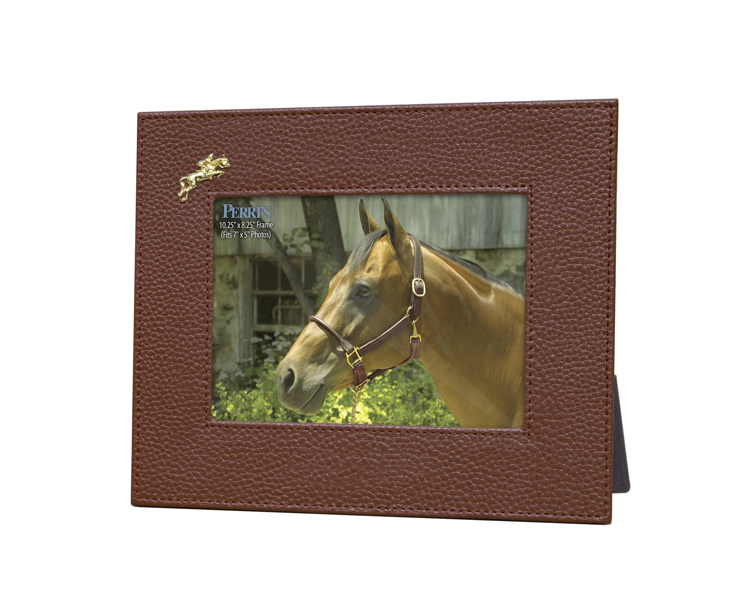 Perri's Picture Frame with Jumping Horse Accent