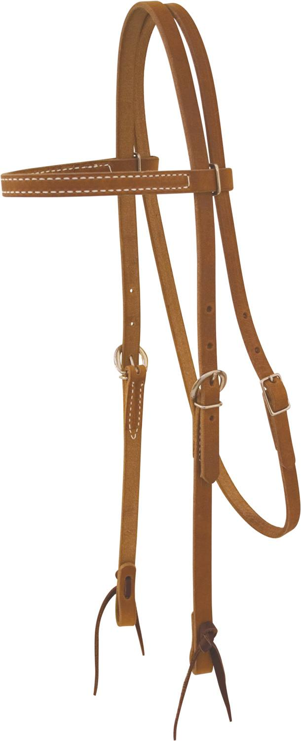 Billy Cook Saddlery Browband Harness Leather Headstall