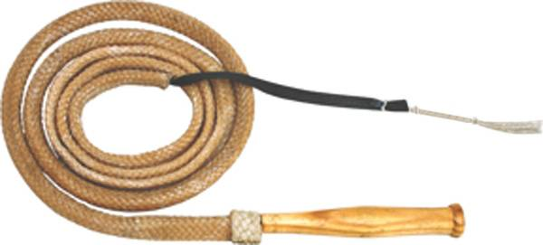 Cowboy Pro Bull Whip With Revolving Handle