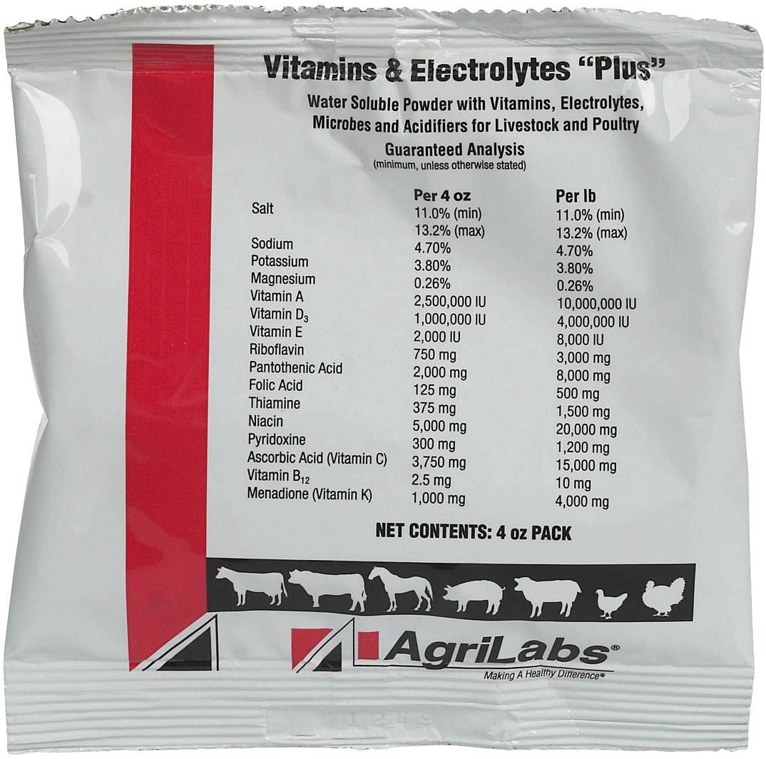 Agrilabs Vitamins & Electrolyte Plus
