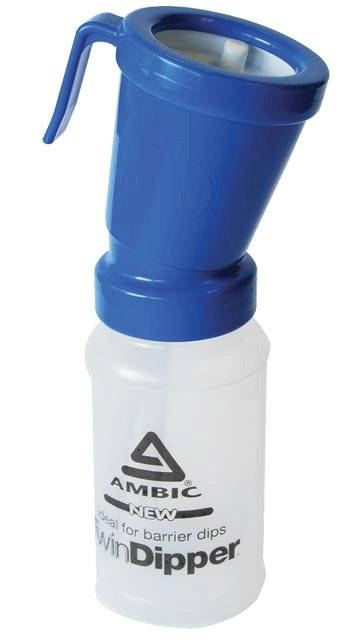 Ambic Twin Dipper Non-Return Dip Cup