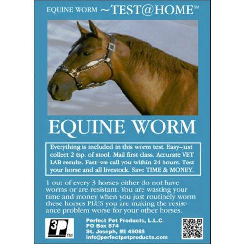 Test At Home Equine Worm
