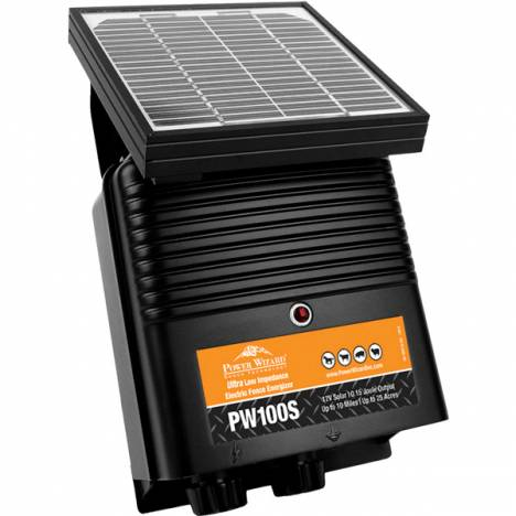 Power Wizard Solar Pw100S Energizer