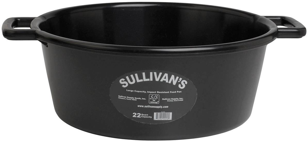 Sullivan's Feed Pan With Handles