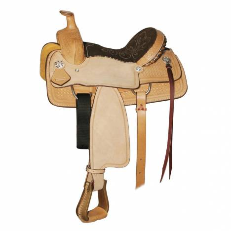 Circle Y Little Cowpoke Roper Saddle