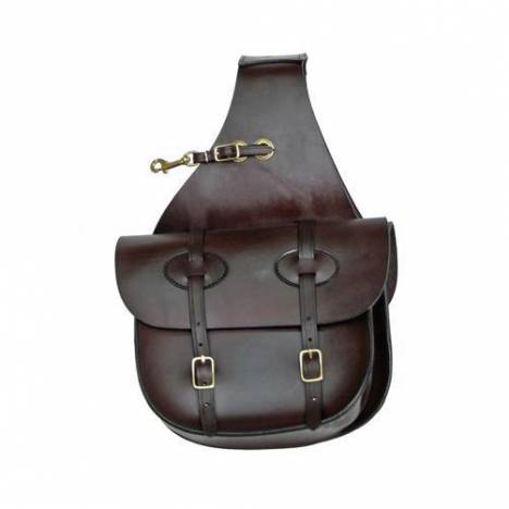 Tucker Traditional Leather Saddle bags