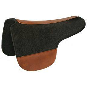 Tucker Round Saddle Pad-Wool Felt
