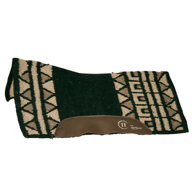 Reinsman Charmayne James Blanket Top Pad - Wool Bottom