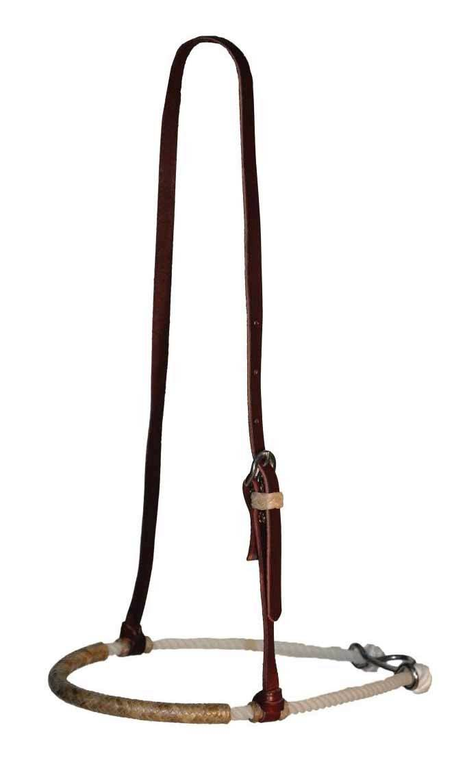 Reinsman Single Rope Rawhide Noseband