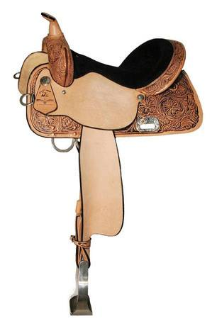 High Horse Proven Mansfield Saddle - Maltese Conchos