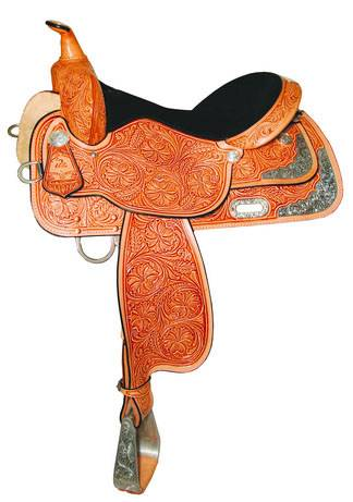 High Horse Gladewater Show Saddle