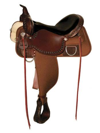 High Horse Magnolia Cordura Trail Saddle