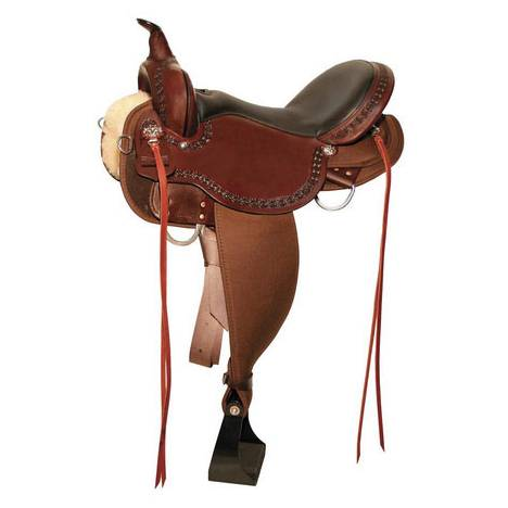 High Horse Daisetta Cordura Trail Saddle