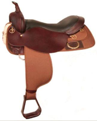 High Horse Big Rock Cordura Trail Saddle