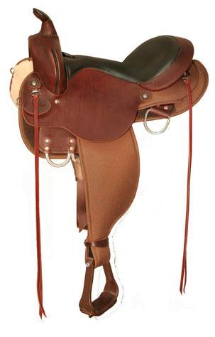 High Horse El Campo Gaited Cordura Trail Saddle