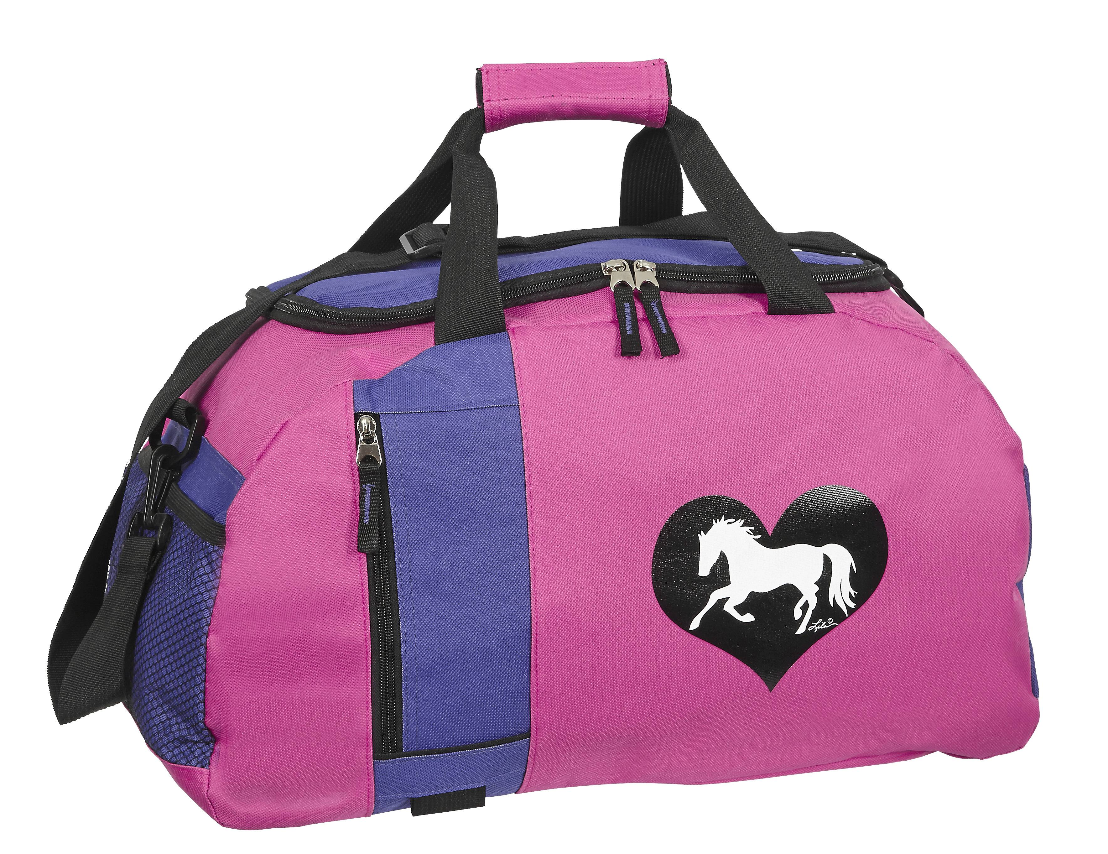 Lila Blakeslee Heart Horse Duffle
