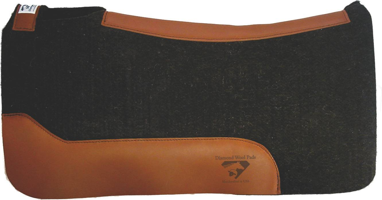 Diamond Wool Black Gold Performance Square Pad