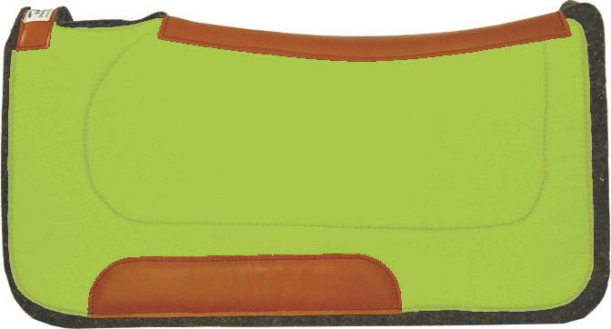 Diamond Wool Square Contoured Ranch Pad - Bright Colors