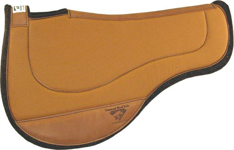 Diamond Wool Endurance Contoured Round Ranch Pad