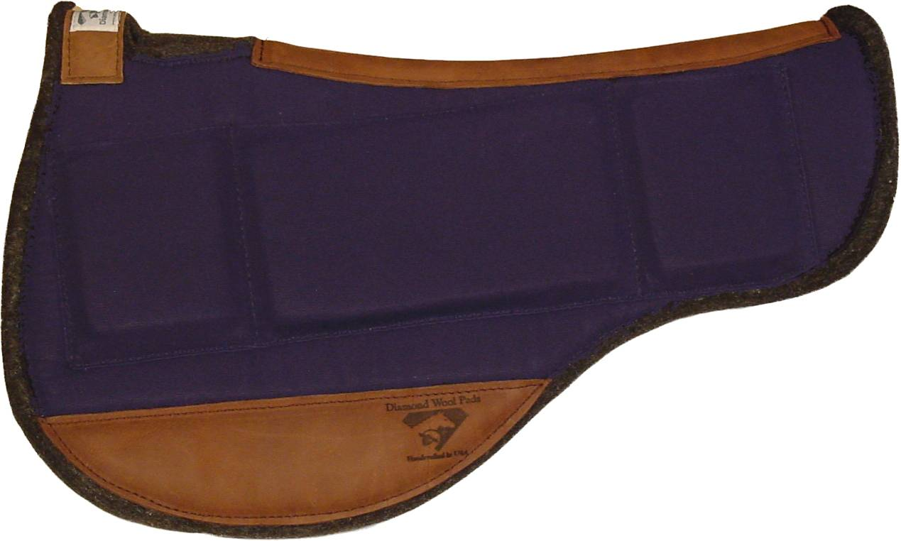 Diamond Wool Endurance Contoured Relief Round Pad