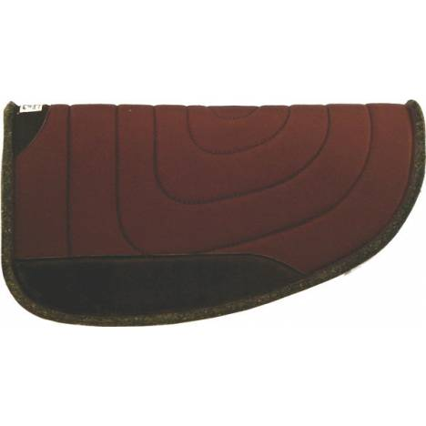 Diamond Wool The Rancher Round Pad with 4'' Cutback