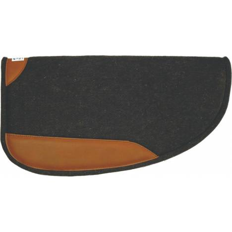 Diamond Wool Round Wool Pad With Wear Leather
