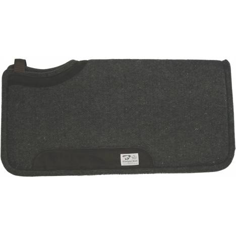 Diamond Wool Square Wool Pad With Wear Leather & 10'' Cutback